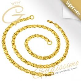 Pozlátená retiazka s náramkom 24 ct zlatom Malta 1c163d25ba7