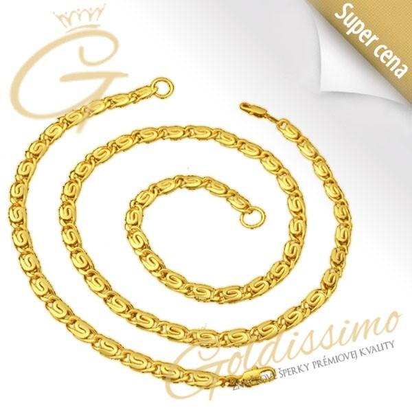 34c631d0c Pozlátená retiazka s náramkom 24 ct zlatom Malta - Goldissimo