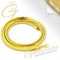 Pozlátená retiazka 24 karátovým zlatom Geneva